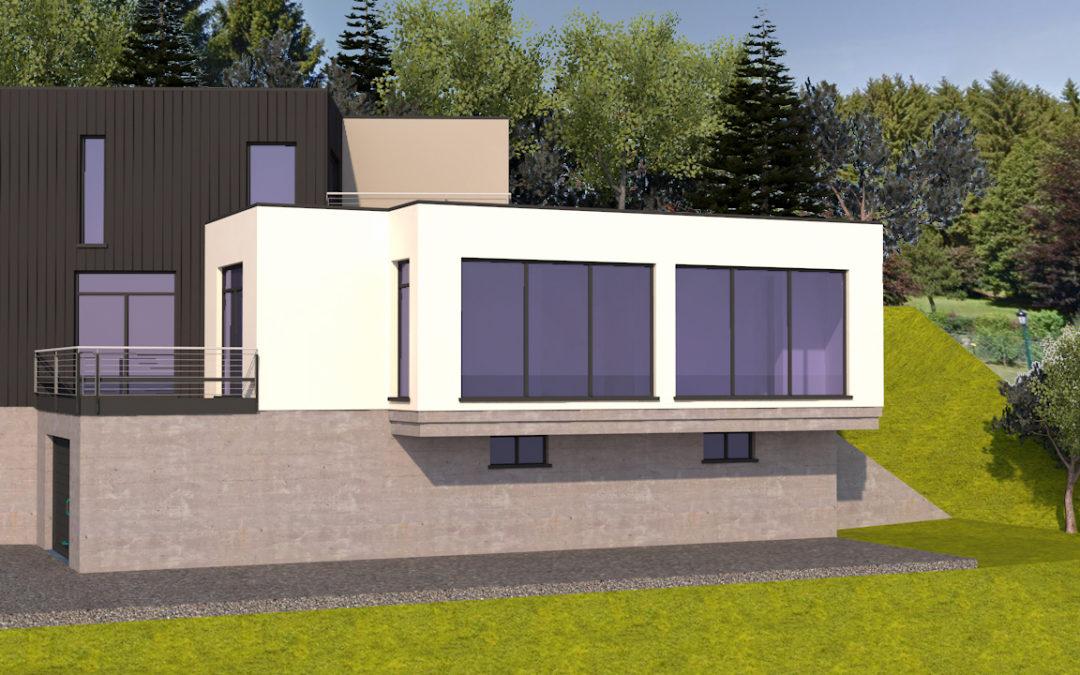 Maison d'architecte à Sarre-Union